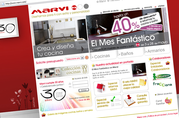 web y multimedia marvi